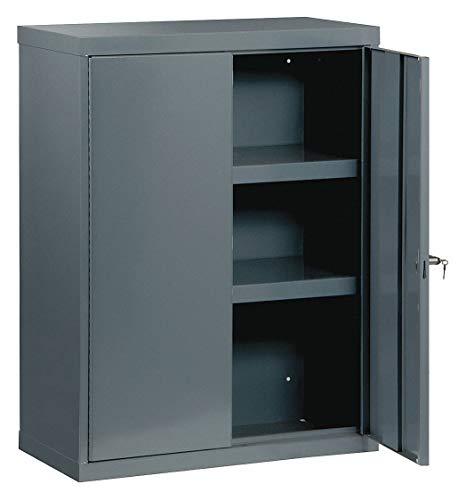 Edsal Welded Vault Cabinet - 36in.W x 24in.D x 48in.H, Model# VC362448