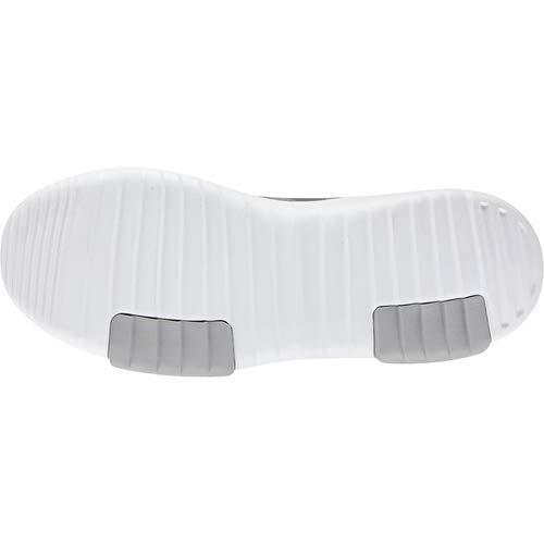 adidas Kids CF Racer TR Running Shoe, Grey/Silver Metallic/White, 12.5K M US Little Kid by adidas (Image #3)