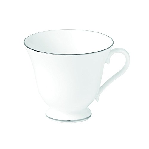 Wedgwood Signet Teacup, 6 oz., Platinum (Dinnerware Signet Platinum)