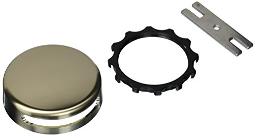 Watco 18009-BN Innovator Overflow Plate, Brushed Nickel (Faceplate Tub Overflow)