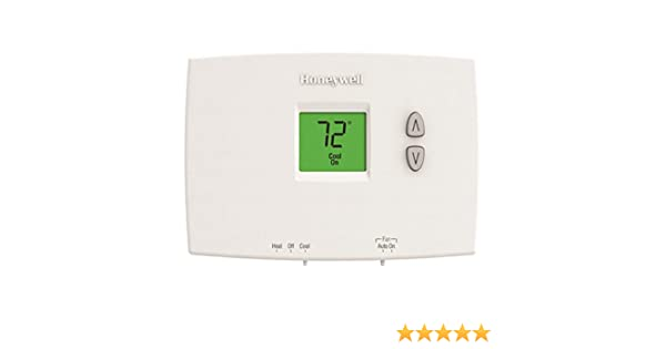 Honeywell TH1110DH1003 Horizontal PRO 1000 Non-Programmable Thermostat - Backlit, 1H/1C, Dual Powered - Programmable Household Thermostats - Amazon.com