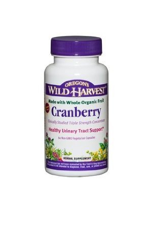 Oregons Wild Harvest, Cranberry, 60 Veggie Capsules