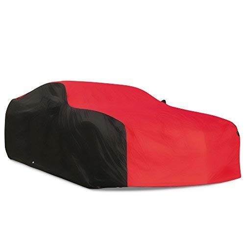 2010-2019 Camaro Ultraguard Plus Car Cover - Indoor/Outdoor Protection (Red/Black)