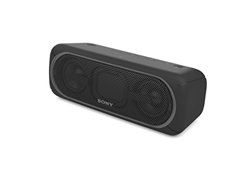 Sony XB40 Portable Wireless Bluetooth Speaker, Black (2017 Model) SRS-XB40/BLK (Certified Refurbished) by Sony