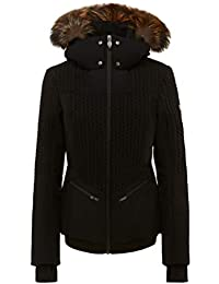 Postcard Crows BMAT Fur Womens Insulated Ski Jacket