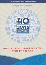 (40 Days in the Word Small Group Study)