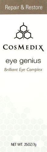 Cosmedix Eye Genius Brilliant Eye Complex 7g(0.25oz)new Fresh (0.25 Ounce Bar)