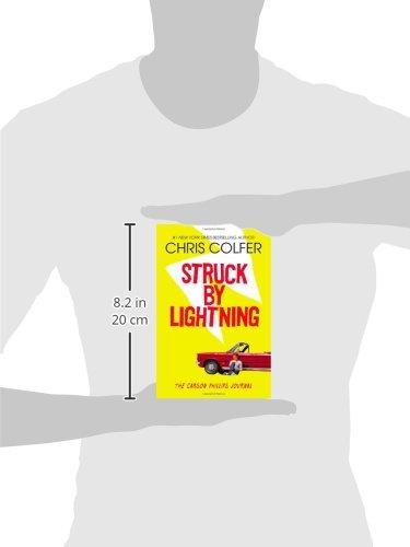 Chris Colfer Book Struck By Lightning