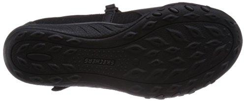 Skechers Breathe-Easy - Marigold - zapatillas de cuero mujer negro - negro