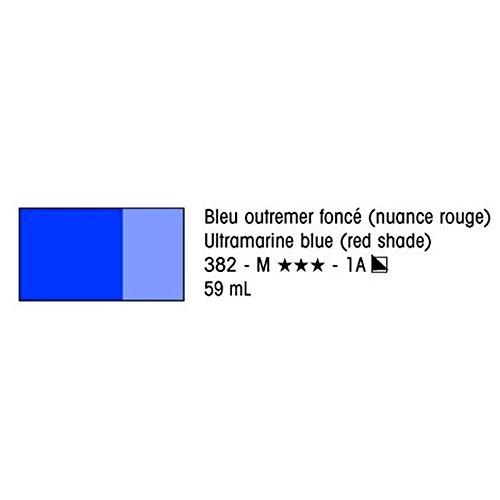 (Liquitex Heavy Body Acrylic (High Visc.) : 59ml : Ultramarine Blue (Red Shade))