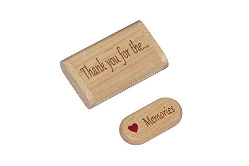 (Wood 16gb Flash Drive Gift with Display Box