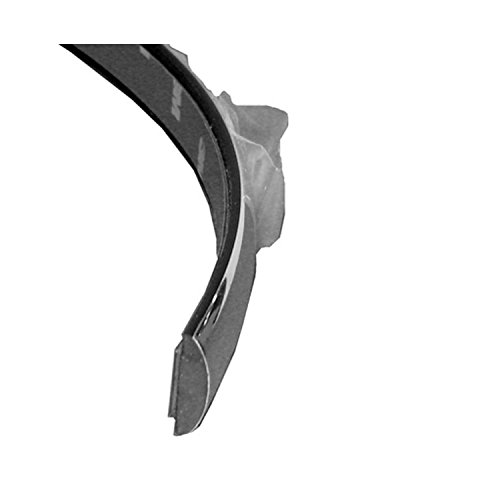 (New Rear Bumper Cover Molding For 2000-2011 Ford Crown Victoria Chrome, Plastic, Base/Lx Models, Approximately 1/2in Tall And Rounded FO1157244)