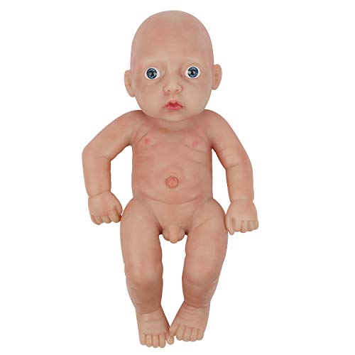Vollence 11 Inch Full Silicone Baby Doll That Look Real