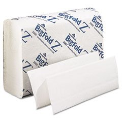Paper Towels, Z-Fold, White, 10-1/4\