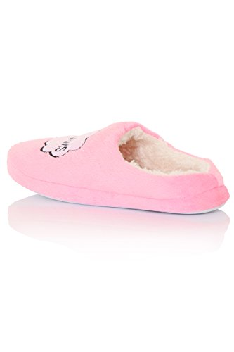 Femme Rose Continental Continental Chaussons Pour Chaussons RII4Pq