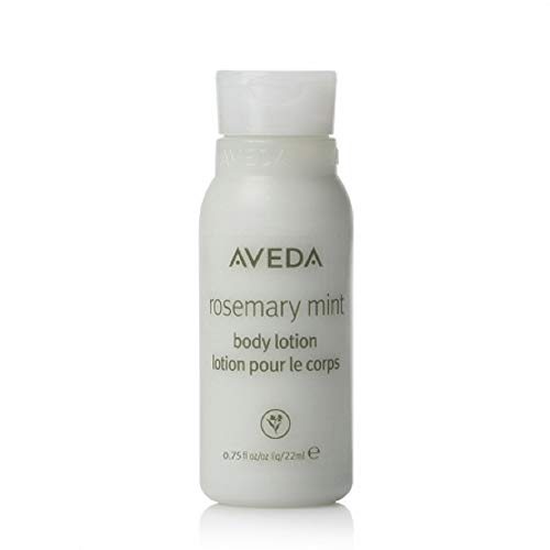 Aveda Rosemary Mint Body Lotion Moisturizer Lot of 10 each 0.75oz Bottles. Total of 7.5oz