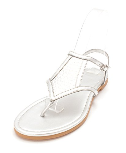 Cole Haan Womens Kathisam Open Toe Casual Ankle Strap Sandals Silver KfUi6w