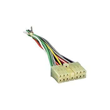 metra 71-1002 reverse wiring harness for 1989-1996 jeep / eagle vehicles  factory radio