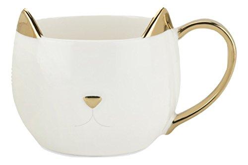 - Pinky Up 5385 Chloe Cat Mug Cup, White