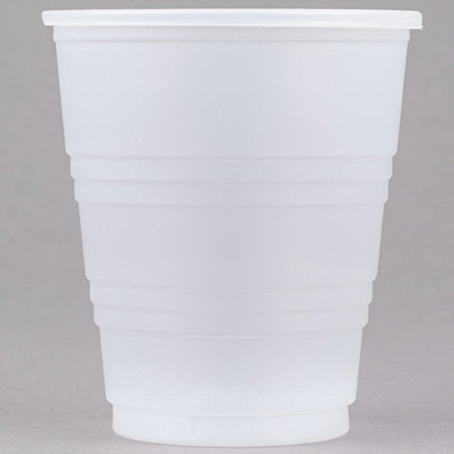 Dart Y5 Conex Galaxy 5 oz. Translucent Plastic Cold Cup - 100/Pack -