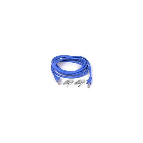 (BELKIN cat6 50ft blue patch cable rj45m/rj45m w/snagless boot)