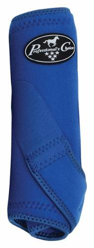 Professionals Choice Equine Sports Medicine Boot Value Pack, Set of 4 (Medium, Royal Blue)