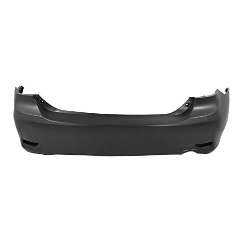 MBI AUTO – Painted To Match, Rear Bumper Cover for 2011-2013 Toyota Corolla Sedan S / XRS 11-13, TO1100288