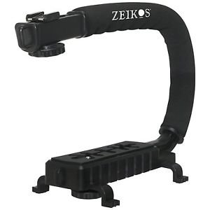 Pro Deluxe Video Stabilizing Bracket Handle for Canon Vixia HF R30