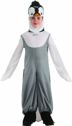 Happy Feet Child's Penguin Costume - One Color - Small
