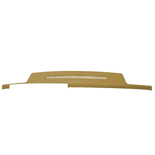 DashSkin Molded Dash Cover Compatible with 88-94 GM Trucks in Cognac (Camel Tan)