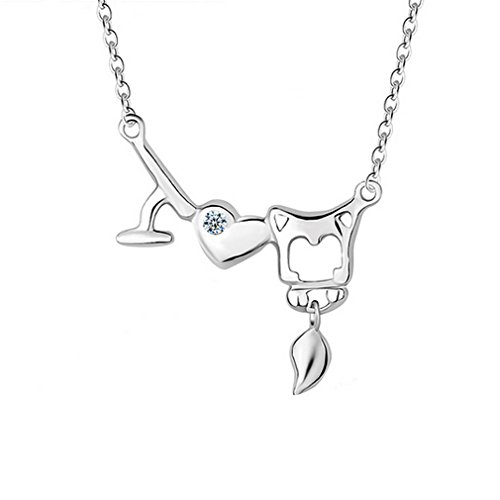 [G&T Korea Style Sterling Silver Necklace Irregular Personality Fashion Pendant Clavicle Chain] (Princess Daisy Costumes Pattern)