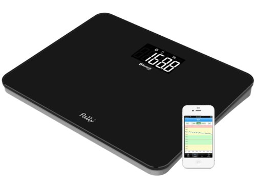 Pally Smart Wireless Scale: Ultra Wide Platform, Extra - Bathroom Scale Double A