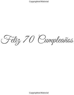 Feliz 70 cumpleaños: Libro De Visitas 70 Años Feliz ...