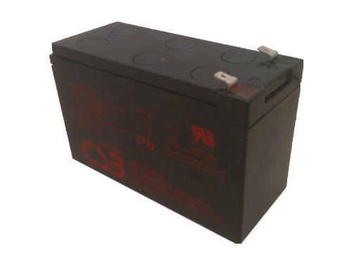 CSB HR1234WF2 - 12 Volt/9 Amp Hour (34 Watts) Sealed Lead Acid Battery with 0.250 in. Fast-on (Hour Sealed Lead Acid Battery)