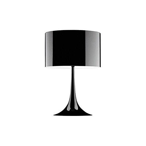 Flos Spun Light - Flos Spun Light T1 Table Lamp Glossy Black 110 Volt