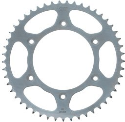 Sunstar Honda Sprockets - Sunstar 2-356545 45-Teeth 520 Chain Size Rear Steel Sprocket