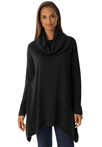 Jessica-London-Womens-Plus-Size-Cowl-Neck-Sweater
