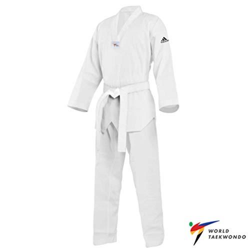Bianco Dobok Adidas Nuovo Omologato Adi Taekwondo start Wt qwZw0