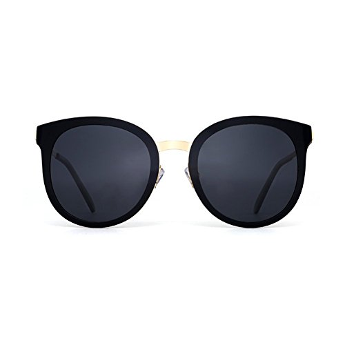 Gafas De Polarizada De Azul Femenina Conduce Negro Oval Sol Harajuku Marea De Marco La LIZHIQIANG Las Gafas Manera Que Sol Color De fvAInqO