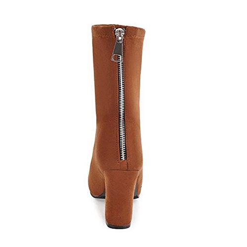 BalaMasa Abl10621, Sandales Compensées Femme Marron