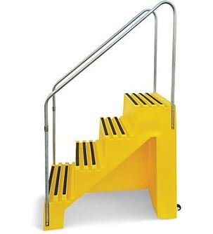 Elegant Plastic Portable Stairs PLS STAIR1B