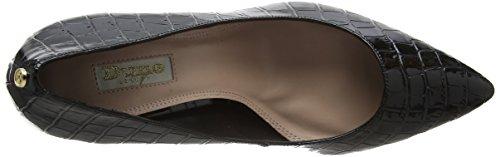Black Dune croc Closed Toe Aeryn Black Heels Women's ZAqUZ1T