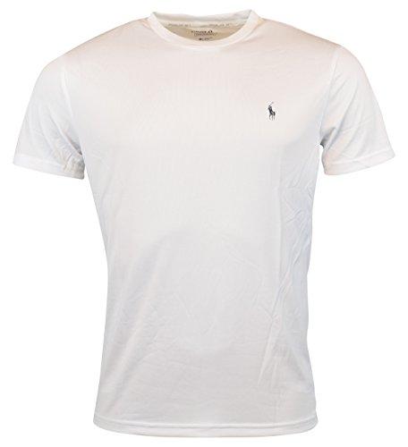 Polo Ralph Lauren Men's Performance Jersey T-Shirt, Pure White, Small