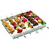 GrillPro 41338 Stainless Steel Shish Kebab Set thumbnail