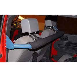 Seat Harness Bar - Rear Seat Harness Bar Padding For 2007-11 Jeep Wrangler 4 Door With Ultimate Sports Cage