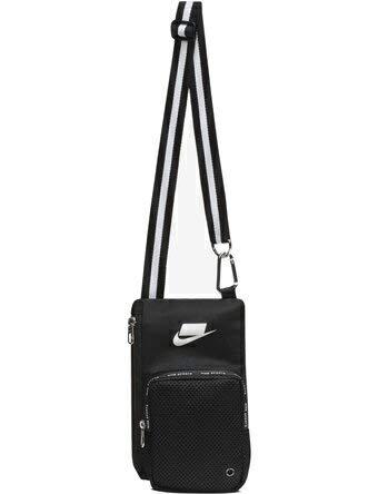 65c1bcdbac0 Amazon.com : Nike Sport Small Items Bag, Black/Summit White, One ...