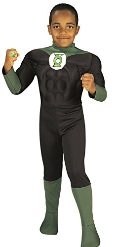 Rubie's Costume Green Lantern Deluxe Muscle Chest Child Costume, Toddler ()