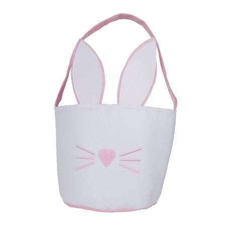 - Pink Basket Easter Bucket Kids