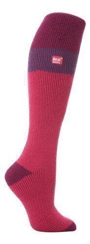 Ladies Winter Thermal Wellington Boot Socks in 7 colours 4-8 UK Heat Holders