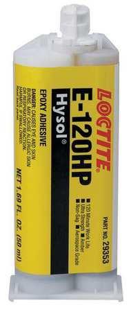 Loctite EA E-120HP (237128) Toughened Non-Sag 120-Min Set Epoxy (2 Hour) - 50ml/1.7oz Cartridge by Loctite